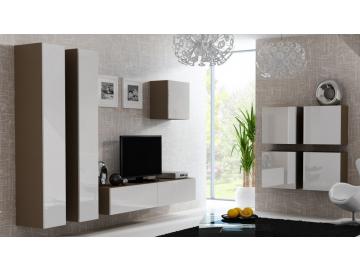 Obývacia stena VIGO 24 latté biela