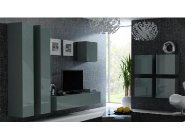 Obývacia stena VIGO 24 sivá sivá
