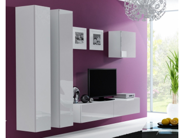 Obývacia stena VIGO 25 biela biela