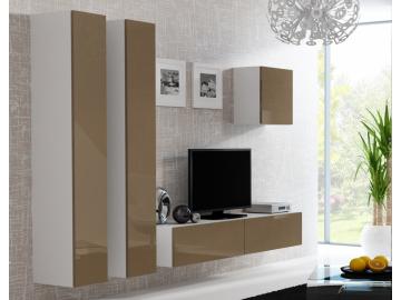 Obývacia stena VIGO 25 biela latté