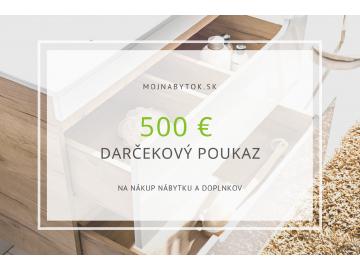 Darčeková poukážka 500€