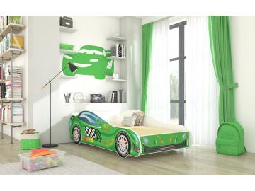 Detská auto posteľ Speed
