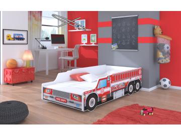 Detská auto posteľ Fire Truck