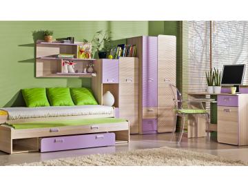 Detská izba Lorento EGO fialová