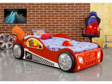 Detská posteľ formulka Monza červená
