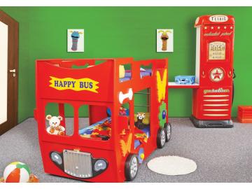 Happy bus červený 5