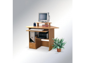 Rohový písací stolík