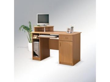 Písací stolík Max s okrúhlou policou