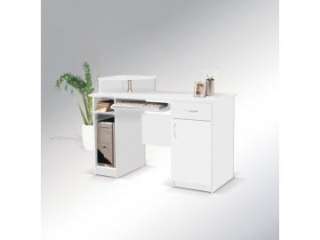 nádherný Písací stôl max 2 biela