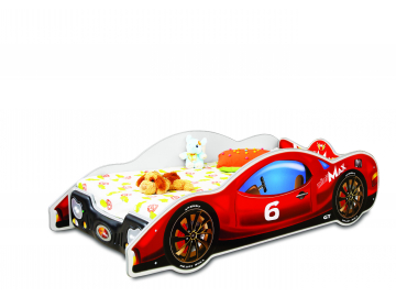 Detská posteľ Auto Mini Max červené