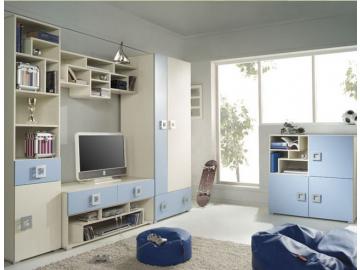 Detská izba Labirynt modrá