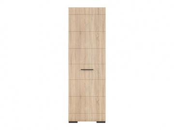 elegantný hnedý regál FEVER v modernom dizajne