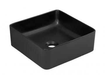 Keramické umývadlo UM-6276 / Slim 1 čierne