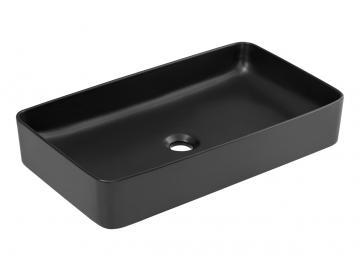 Keramické umývadlo UM-6275 / Slim 2 čierne