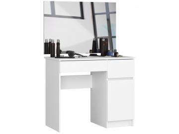 toaletka kosmetyczna z lustrem p 2sl 900x600 prawa biala