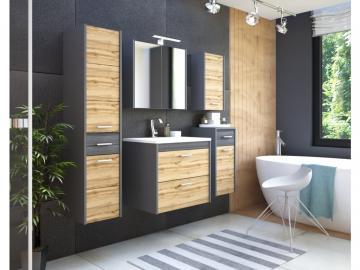 Kúpeľňový komplet IBIZA Antracit
