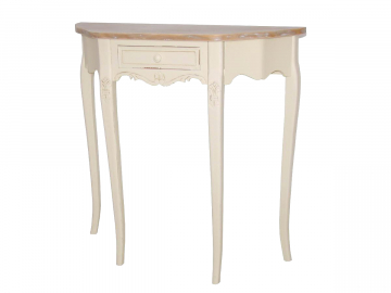 dreveny toaletny stolik RINIMI vanilka RI033
