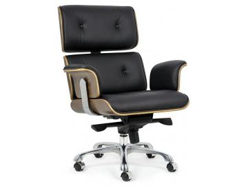 20349 kancelarske kreslo lounge business cierna orech