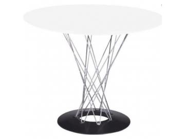 4672 jedalensky stol cyklon inspirovany cyclone biela