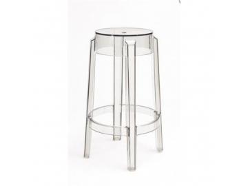 5140 barova stolicka duch 66 cm inspirovana ghost transparentna