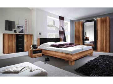 Spálňa Vera  (orech červený/ čierny ) | 229SDH