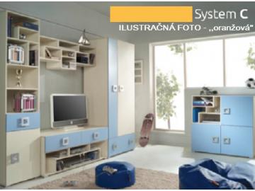Detská izba Labirynt C   oranžová