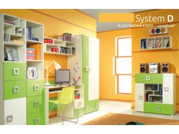 Detská izba Labirynt D | oranžová