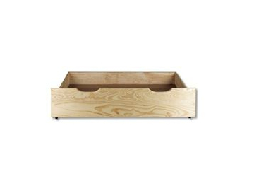 Úložný box pod posteľ - masív LK150 | borovica