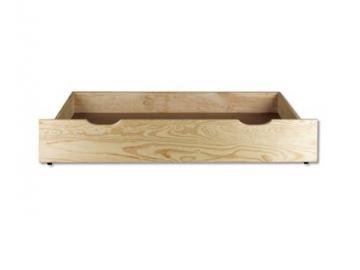 Úložný box pod posteľ - masív LK151 | borovica