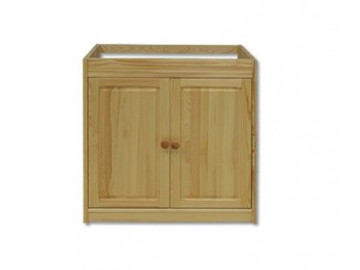 Kuchynská skrinka spodná - masív KW112 | borovica