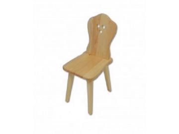 Stolička - masív KT110 | borovica