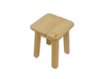 Stolička - masív KT252 | borovica