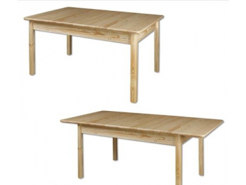 Stôl - masív ST102   180cm borovica