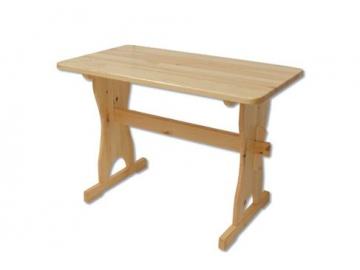Stôl - masív ST103   120cm borovica