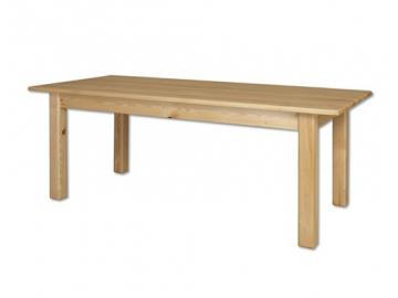 Stôl - masív ST107   borovica