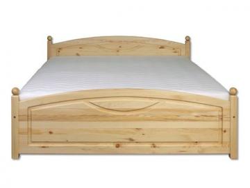 Manželská posteľ - masív LK103   160cm borovica
