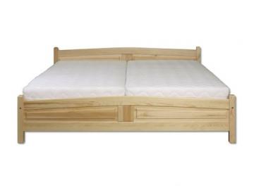 Manželská posteľ - masív LK104 | 180cm borovica