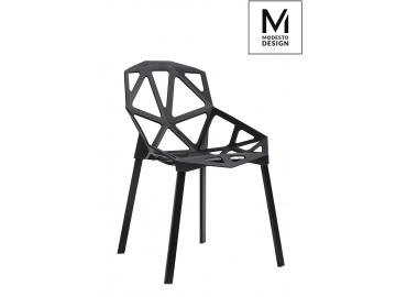 Stolička SPLIT MAT čierna