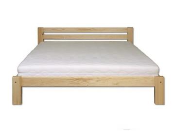 Manželská posteľ - masív LK105 | 180cm borovica