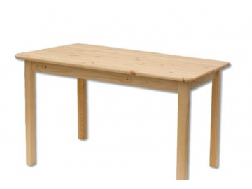Stôl - masív ST104   120x60cm borovica