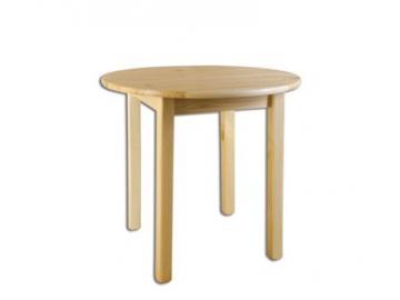 Stôl - masív ST105   100cm borovica