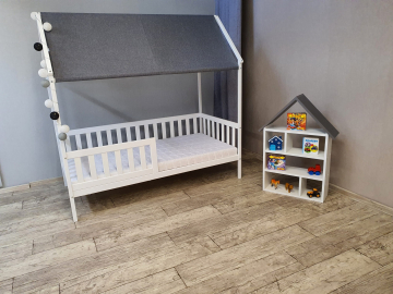 Detská posteľ HOUSE | biela