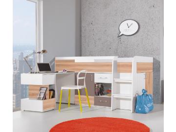 komfortna kombinovana detska postel BLOG 21