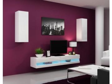 Obývacia stena Vigo X new biela-biela