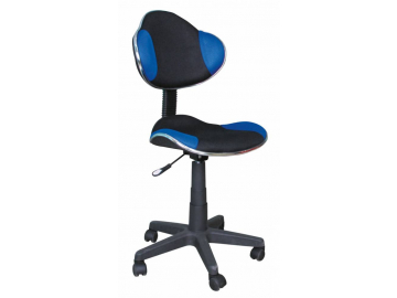 Detská stolička Q-G2 čierno-modrá