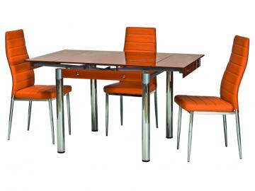 Jedálenský stôl GD-082 oranžový