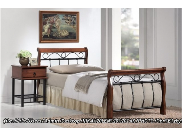 Jednolôžková posteľ VENECJA bis A 90x200