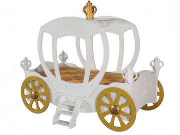 Detská posteľ Koč pre princeznú
