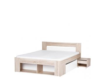 Manželská posteľ s nočnými stolíkmi Milo 09