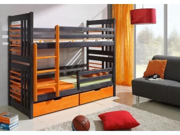 Detská poschodová posteľ Roland